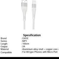 Oppo kabel data oase original tipe C MP-1C garansi resmi