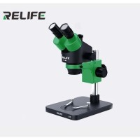 MICROSCOPE BINOCULAR RELIFE RL-M3-B1 ZOOM STEREO With LED LAMP
