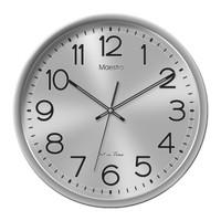 Jam Dinding Maestro Ukuran Besar Diameter 40cm Silent Sweep Halus