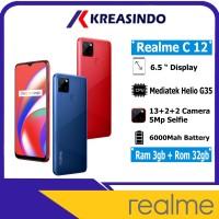 Realme C12 3/32 Ram 3gb Internal 32gb Garansi Resmi