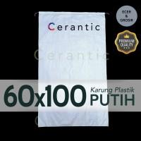 Karung Plastik 60x100 cm Setara Gabah 50 kg ( 60 cm x 100 cm )