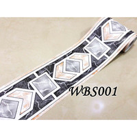 WALL BORDER WBS 10 CMX 10 M WALLSTICKER WALLBORDER DINDING LIST TEMBOK