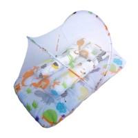 Kasur Lipat Bayi Perlengkapan Bayi Tidur Ada Kelambu Original Murah