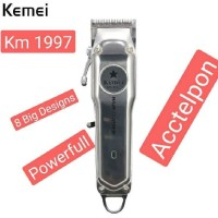 Kemei-1997 Rechargeable Hair Clipper Electric Hair Trimmer Professiona