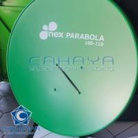Dish 110cm Nex C Ku band Telkom Lokal Islami Breket Parabola 100cm