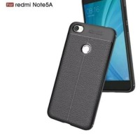 Case Xiaomi Redmi Note 5A Auto Focus Leather Softcase