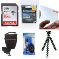 Paket Komplit 6 Item Aksesoris Camera DSLR, Mirrorless