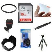 Paket Komplit 8 Item Aksesoris Camera DSLR, Mirrorless