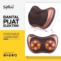 Bantal Pijat Portabel - Massage Pillow Portable 8 Bola Pijat