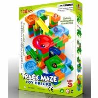 Marble Track Maze Kelerang Balap 128 pcs