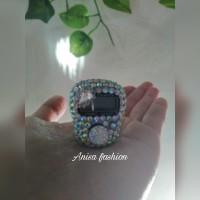 tasbih digital mini counter hias murah swarovski