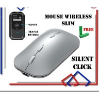 Mouse Wireless Silent Click / Mouse Wireless Rechargeable