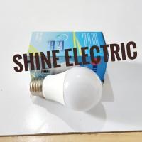 Lampu Bohlam LED 7w 7watt 7 w 7 Watt kuning warm white PL