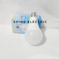 Lampu Bohlam LED 15w 15watt 15 w 15 Watt kuning warm white PL