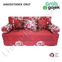 Sofa bed busa Inoac 180 x 200 x 20 Garansi 10th Jabodetabek Only