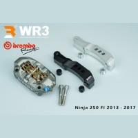 Paket Kaliper Brembo M4 P32 100mm + Breket WR3 Ninja 250 FI 2013-2017