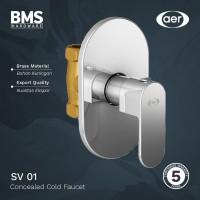 AER Kran Shower Tanam Tembok / Concealed Faucet Dingin SV-01