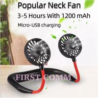 Kipas Angin Leher / Neck Fan / Kipas Angin Mini Portable USB