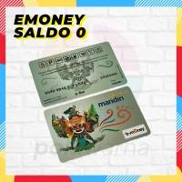 Kartu E-Toll E-Money Mandiri Kosongan - Emoney Etoll Termurah