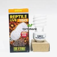 Lampu Exoterra UVB 150 25w - Lampu Kura UVB150 25watt - Lampu Reptil