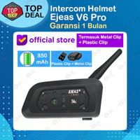 EJEAS V6 Pro Bluetooth Rider Intercom Vnetphone 6 Riders Helmet SENA