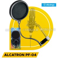 Alctron PF04 high quality microphone Pop Filter Double Layer