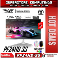 Armaggeddon Gaming Monitor Pixxel+ Pro PF24HD 24 - HDMI