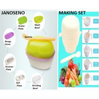 BSS Grinding Food Maker Set 7 IN 1 Peralatan Makan Bayi Alat Makan