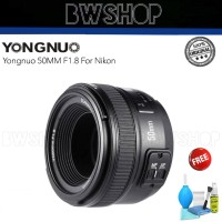 Yongnuo 50MM F1.8 For Nikon - Lensa Yongnuo 50MM
