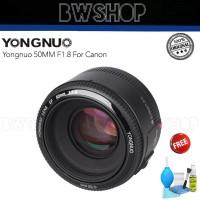Yongnuo 50MM F1.8 For Canon - Lensa Yongnuo 50MM