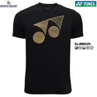 Kaos / Jersey Yonex Classic TruBreeze 1005 Jet Black / Pale Gold