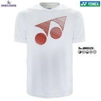 Kaos / Jersey Yonex Classic TruBreeze 1005 White / Fiery Red