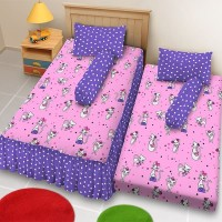 Sprei Kintakun D'luxe - 2in1 Sorong - KITTY CAT - 120x200 (Single)