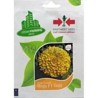 Benih Bunga Marigold MEGA GOLD F1 - Panah Merah / East West Seed