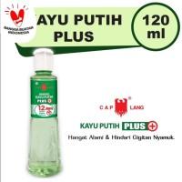 Minyak Kayu Putih Cap Lang Plus 120ml / Caplang 100% ORIGINAL