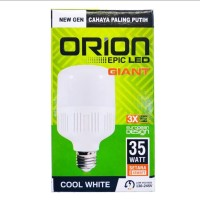 LAMPU ORION LED GIANT COOL WHITE NEW GENERATION - 35W
