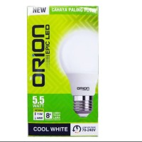 LAMPU ORION LED COOL WHITE NEW GENERATION - 5,5W