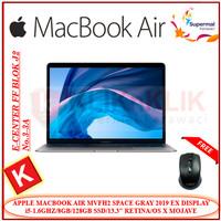 APPLE MACBOOK AIR MVFH2 2019 SPACE GRAY i5-8GB-128GB-RETINA EX DISPLAY