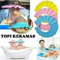 Topi Keramas Anak Shower Cap Topi Pelindung Air Bayi dan Anak