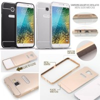 Samsung Galaxy A5 2016 Edition A510 - Metal Slide Hard Case