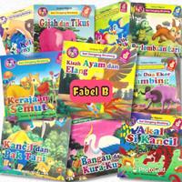 Paket 10 Judul Buku Cerita Anak Bilingual (Indoneisia - Inggris)