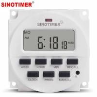 Digital Timer Sinotimer Programmable Timer Switch Relay 220V AC -SA62
