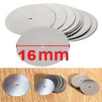 Mata Gergaji Mini Grinder 16mm Thin Circular Saw Dremel Cutting *CD16