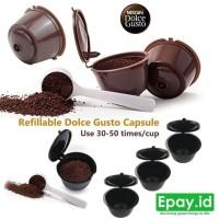 Dolce Gusto Refill Capsule Refillable Capsul Kapsul coffee latte -DA53