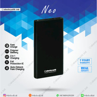 Powerbank Delcell Neo 10.000 mAh / 2 output/ Garansi 2 Tahun