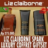 ORIGINAL PARFUM LIZ CLAIBORNE SPARK LUXURY COFFRET GIFTSET / GIFT SET