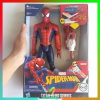 Mainan anak cowok spiderman titan hero series