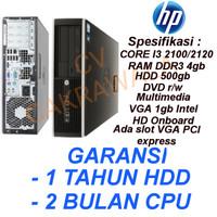 Komputer HP 8200 core i3 2100 Gen 2 CPU Sandy bridge branded bekas
