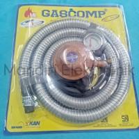 Gascomp Paket Selang Regulator Gas GRT924E