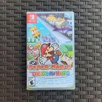 Reg USA Paper Mario The Origami King Switch Cartridge Game 2nd